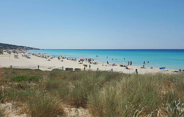 Playa de Migjorn, Formentera (Formesar, CC BY-SA 4.0, Wikipedia)
