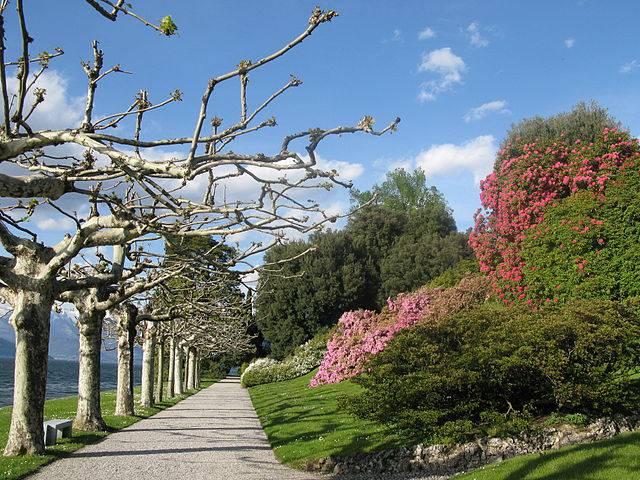 Villa Melzi d'Eril, Bellagio (RaminusFalcon, CC BY-SA 3.0, Wikicommons)