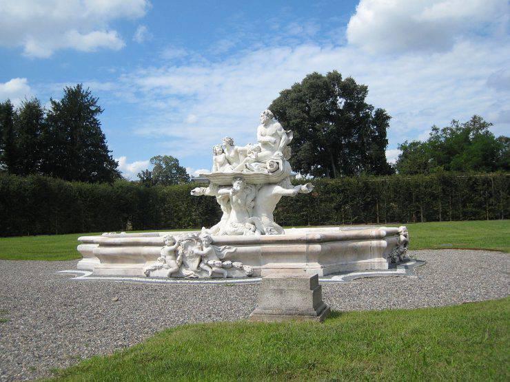 Parco di Villa Visconti Borromeo Litta a Lainate (Wikipedia, Pubblico Dominio)