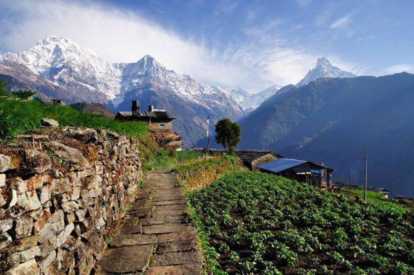 Annapurna, dal villaggio di Ghnadruk, Nepal (iStock)