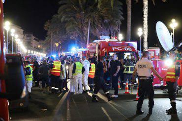 Attentato di Nizza del 14 luglio 2016 (VALERY HACHE/AFP/Getty Images)