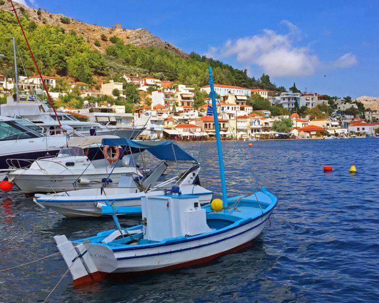 Lagkada Harbor, isola di Chios, Grecia (Deniz Tokatli, iStock)