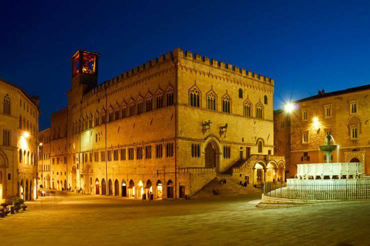 Perugia, Piazza IV Novembre (Giorgio Fochesato, iStock)