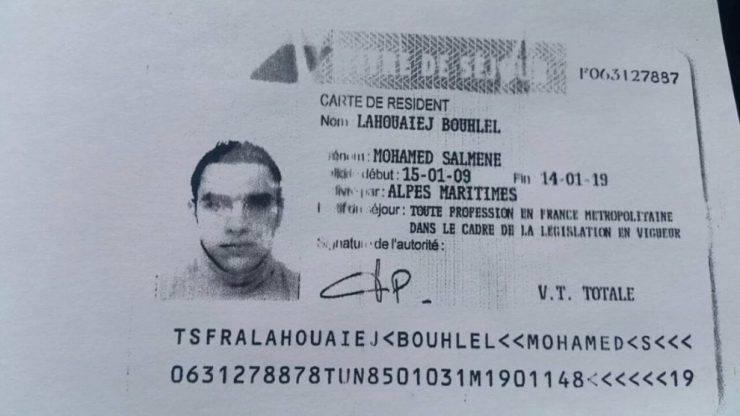 Il terrorista di Nizza, Mohamed Lahouaiej Bouhlel