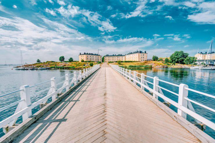 Fortezza marina di Suomenlinna, Helsinki (Ryhor Bruyeu, iStock)