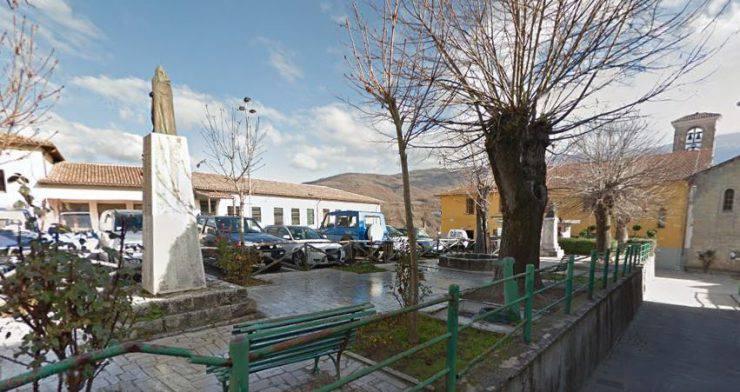 Accumoli, Via Roma (GGoogle Street View)