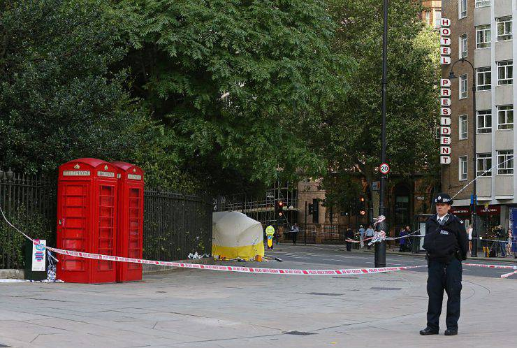 Aggressione con coltello a Londra (JUSTIN TALLIS/AFP/Getty Images)