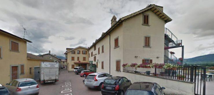 Hotel Roma di Amatrice prima del terremoto (Foto Google Street View)