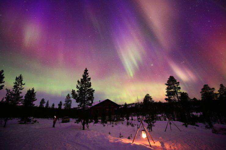 Aurora Boreale in Finlandia (Eerik, iStock)