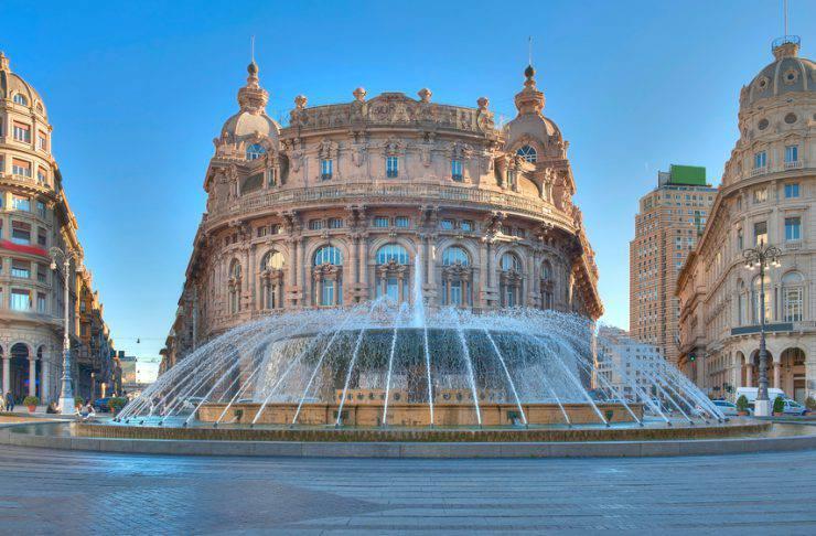 Genova, Piazza Ferrari (iStock)