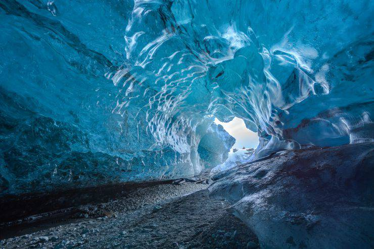 Grotte di ghiaccio Crystal Cave, Islanda (iStock)