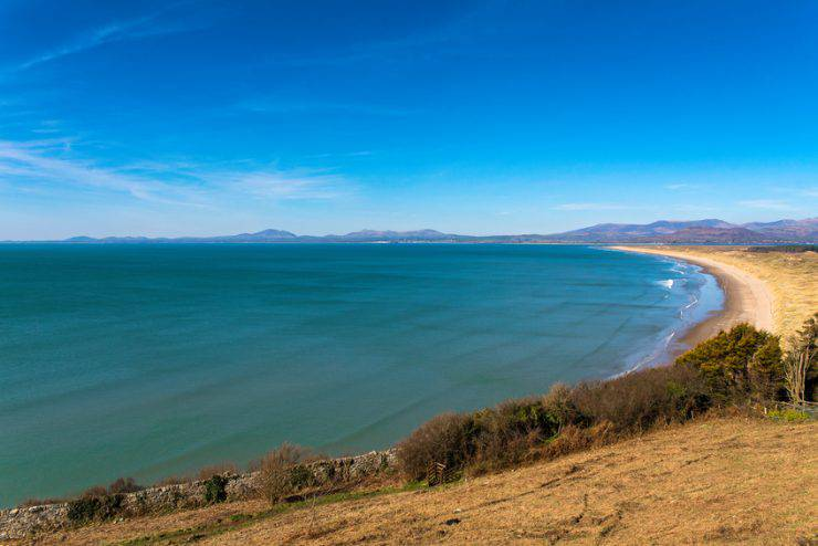 Harlech Beach, Cardigan Bay, Snowdonia National Park, Galles (JohnDavies49, iStock)