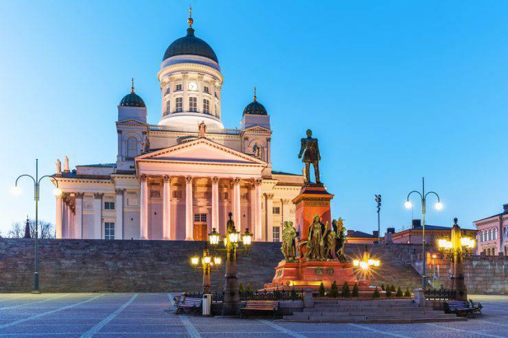 Helsinki, Piazza del Senato (iStock)
