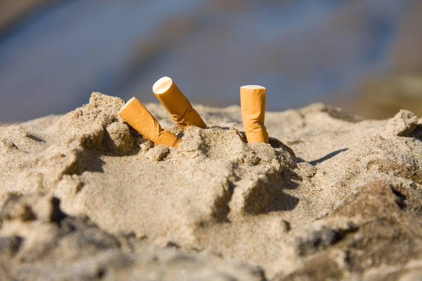 sigarette spiaggia
