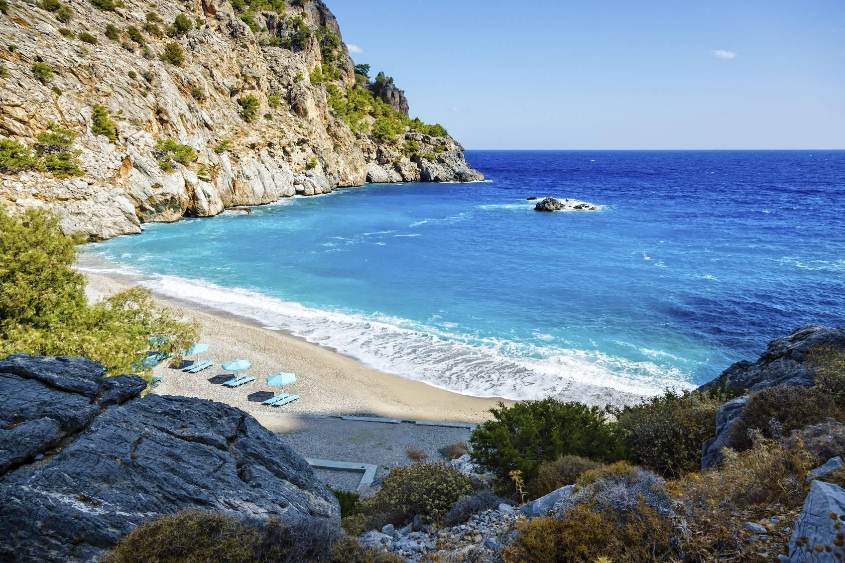Spiaggia di Achata, Karpathos, Grecia