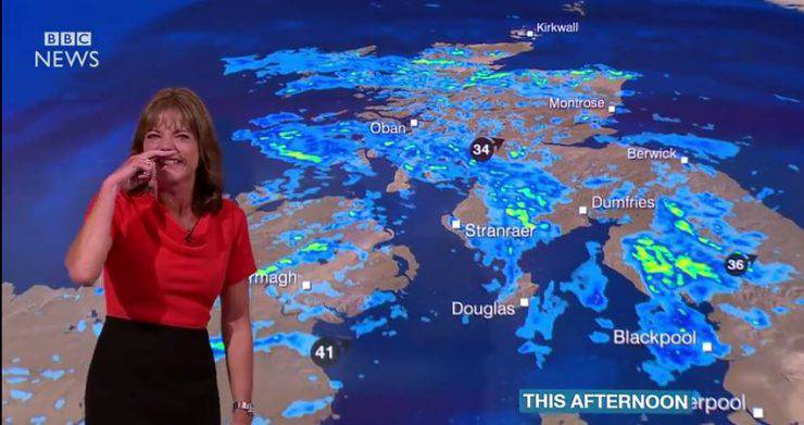 Meteo BBC (Screenshot)
