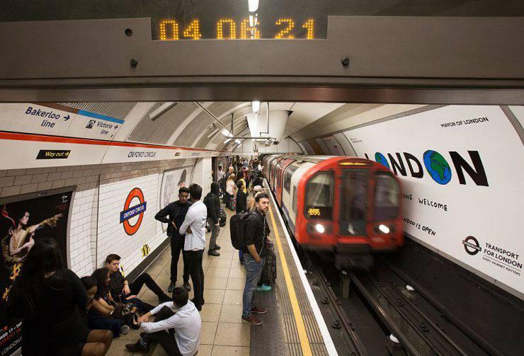 La metropolitana di Londra (DANIEL LEAL-OLIVAS/AFP/Getty Images)