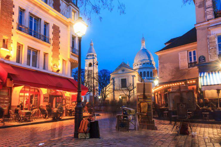 Parigi, Montmartre, Place du Tertre (iStock)