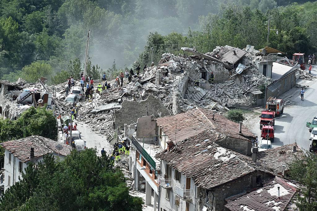 TERREMOTO CENTRO ITALIA: L'INIZIATIVA DEL CAI