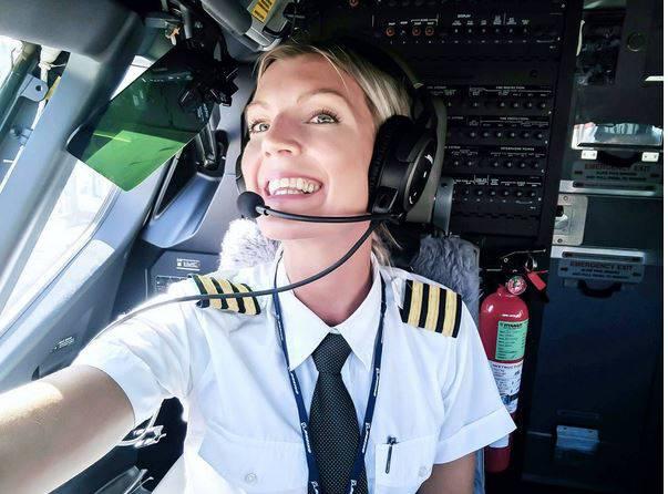 Maria Patterson, pilota Ryanair