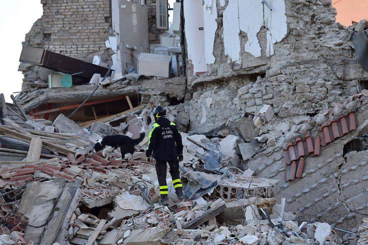 Terremoto ad Amatrice (Carl Court/Getty Images)