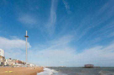 La torre di Brighton British Airways i360 (Foto Facebook)