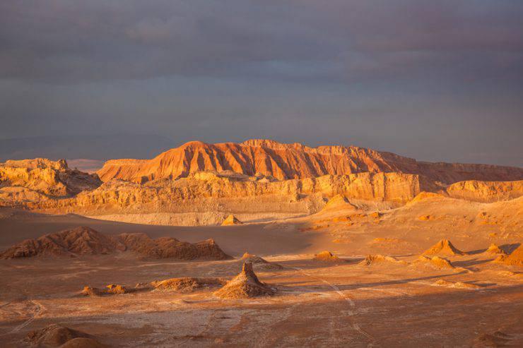 Valle della Luna. Deserto di Atacama, Cile (iStock)