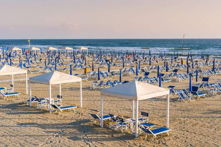 Spiaggia di Viareggio (iStock)