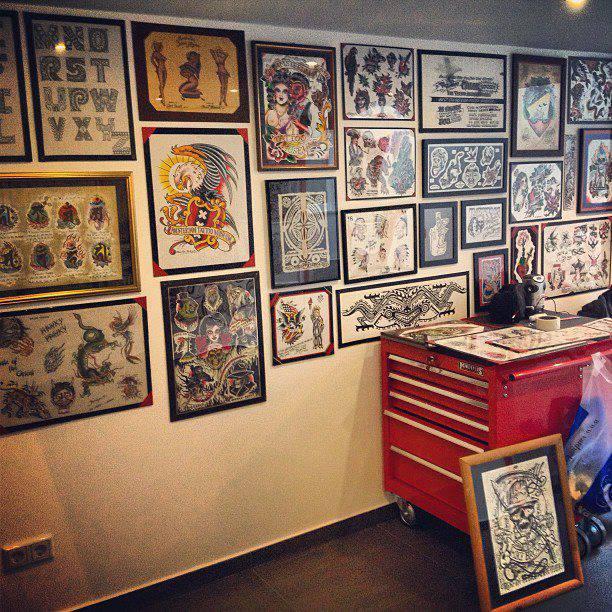 Amsterdam Tattoo Museum (Foto Facebook)