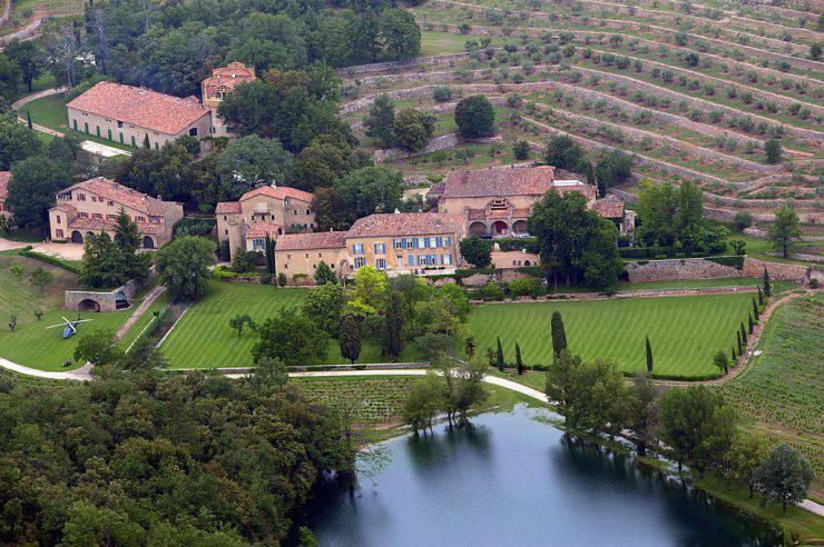Chateau Miraval (MICHEL GANGNE/AFP/Getty Images)