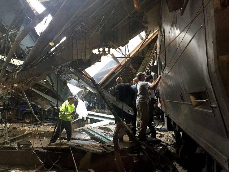 Incidente ferroviario a Hoboken, New Jersey (Pancho Bernasconi/Getty Images)