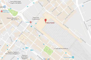 Roma Termini (Google Maps)