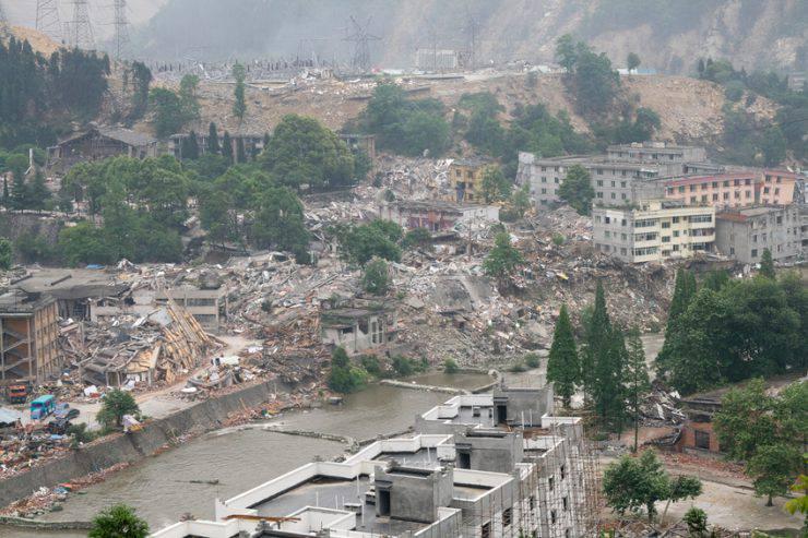 Terremoto del Sichuan nel 2008 (iStock)