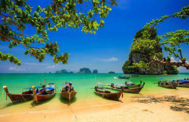 Thailandia, spiaggia di Railay (iStock)