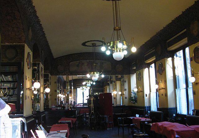 Caffè San Marco, Trieste (Wikipedia, pubblico dominio)