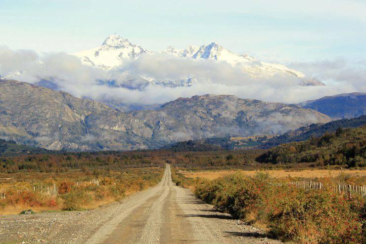 Carretera Austral, settore Leones (Rakela, CC BY-SA 3.0, Wikipedia)