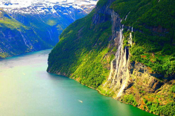 fiordi della norvegia