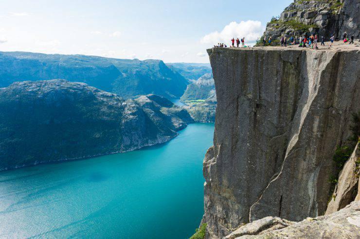 Guida della Norvegia Preikestolen