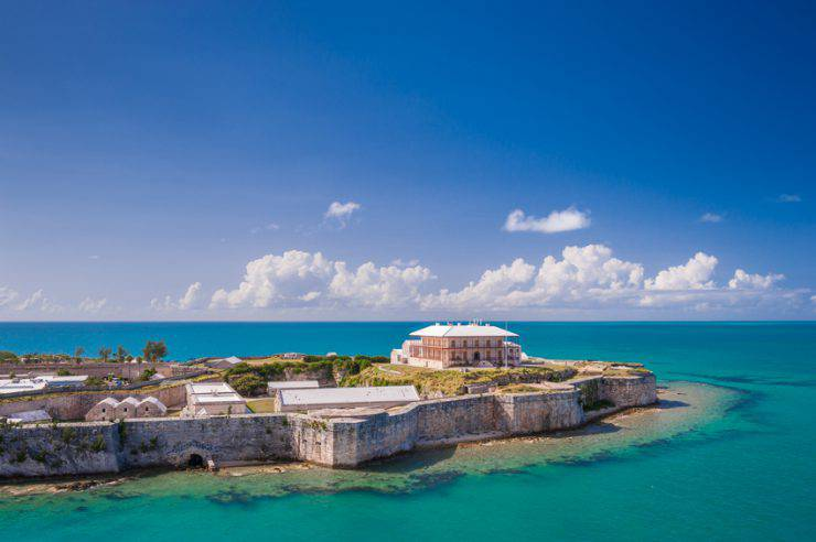 Bermuda, King's Wharf (iStock)