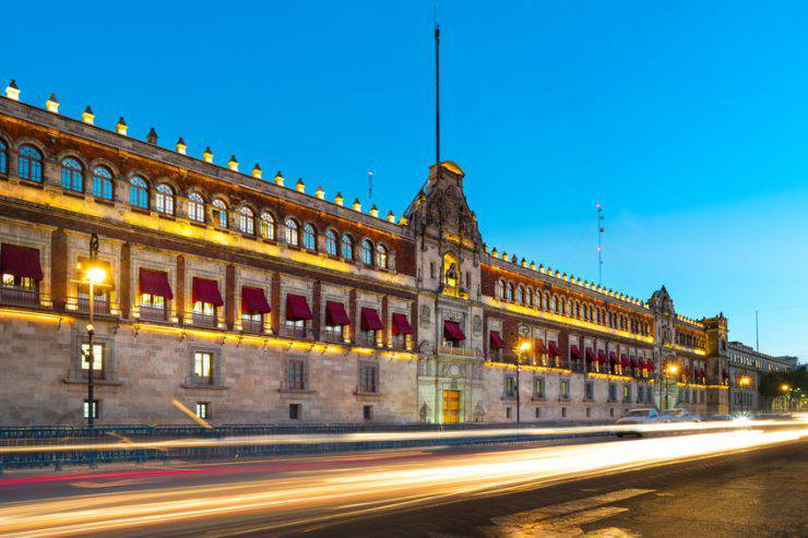 Palazzo Nazionale, Città del Messico (iStock)