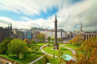 Edimburgo in autunno