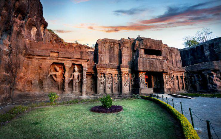 grotte di ellora india