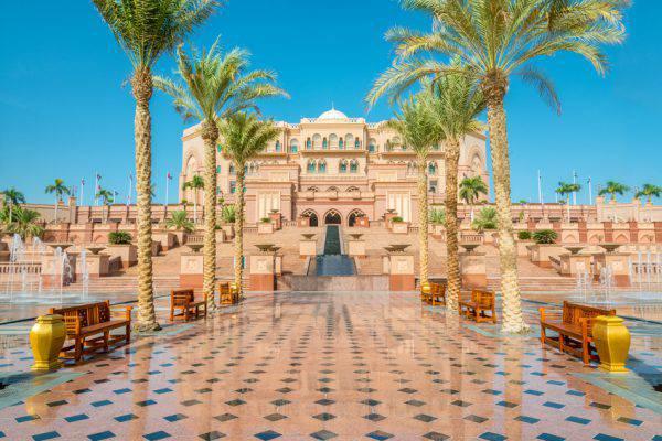 Emirates Palace, Abu Dhabi (iStock)