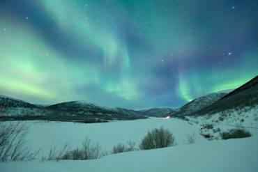 Finlandia, aurora boreale (iStock)