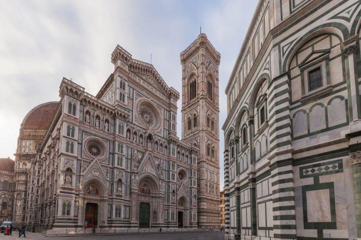 Firenze_ Duomo di Santa Maria del Fiore, Campanile e Battistero (iStock)