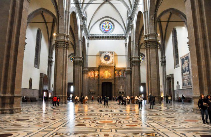 Santa Maria del Fiore, interno, Duomo di Firenze (iStock)