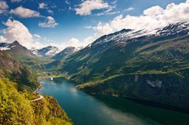 Guida della Norvegia Fiordo di Geiranger
