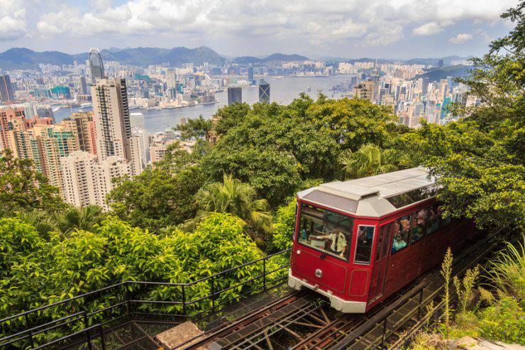 Hong Kong, Peak Tram (iStock)