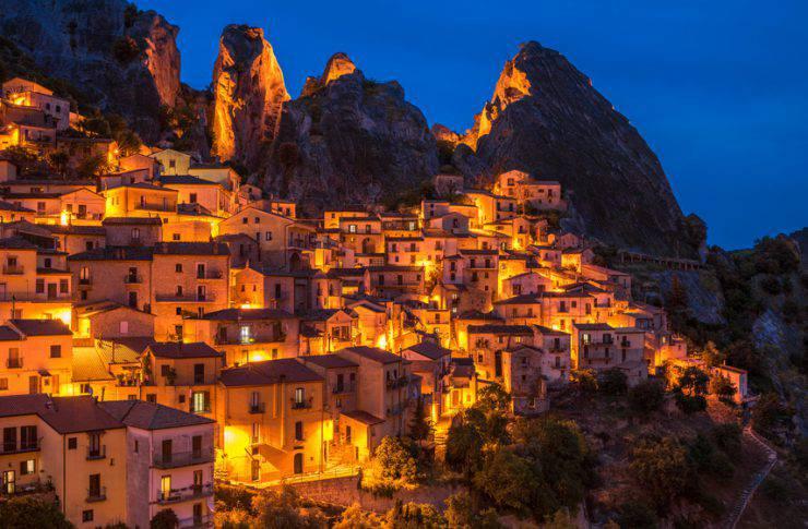 castelmezzano, borgo d'italia