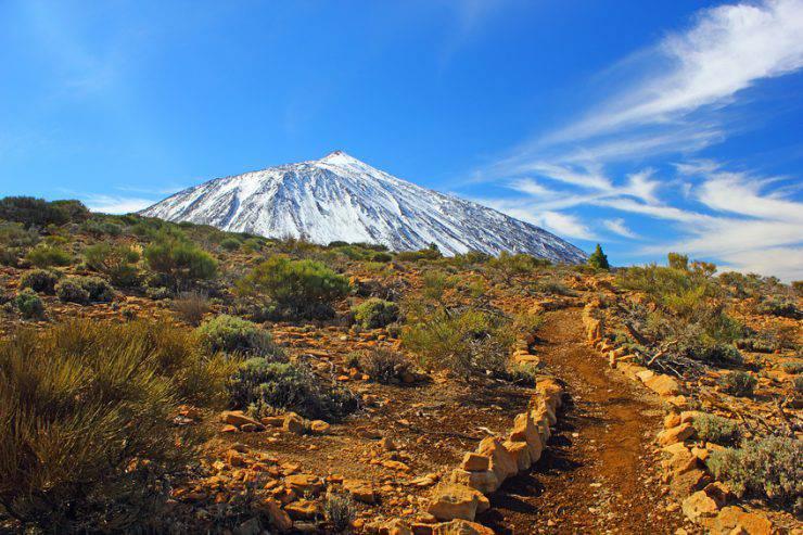 Vulcano Teide, isole Canarie